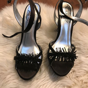 Unlisted by Kenneth Cole Holiday high heel sandals